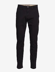 SMART 360 CHINO BLACK - chino's - blacks
