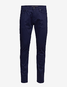 SUPREME FLEX JC SLIM MARITIME - pantalons chino - blues