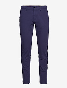 SMART 360 CHINO TAPER MARITIME - puvunhousut - blues