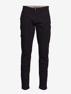 SMART 360 CHINO TAPER BLACK - chinos - blacks