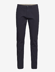 SMART 360 CHINO TAPER DOCKERS - pantalons habillés - blues