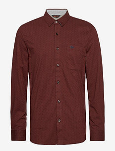 ALPHA 360 BUTTON UP BURKE 360 - casual - reds