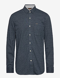 ALPHA 360 BUTTON UP BURKE 360 - BLUES