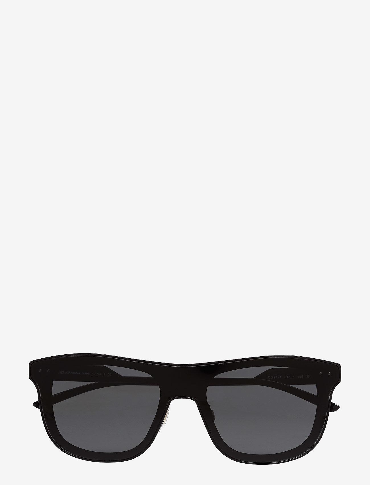 Dolce & Gabbana Sunglasses - Not Defined - okulary przeciwsłoneczne w kształcie litery d - black - 0