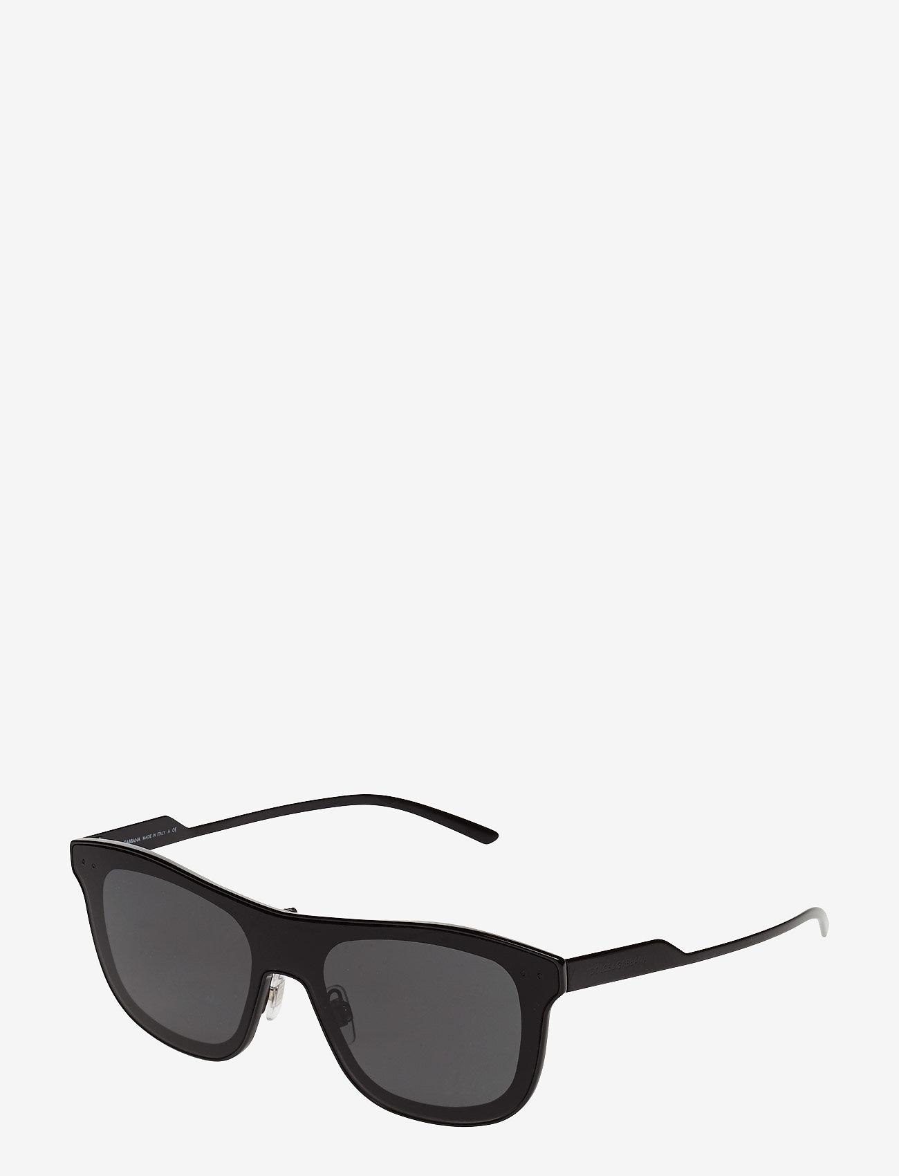 Dolce & Gabbana Sunglasses - Not Defined - okulary przeciwsłoneczne w kształcie litery d - black - 1