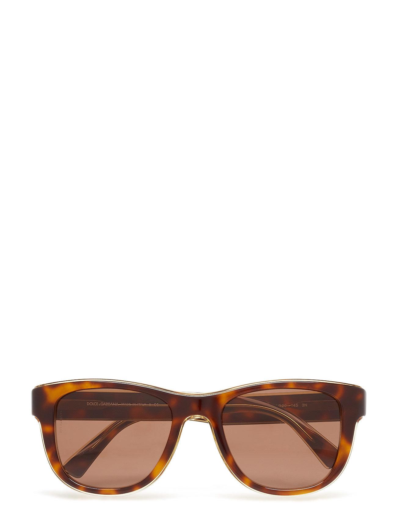 D-Frame Wayfarer Sonnenbrille Braun DOLCE & GABBANA SUNGLASSES