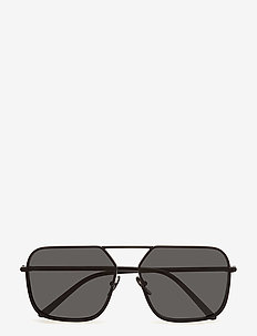 MEN'S SUNGLASSES - MATTE BLACK/BLACK
