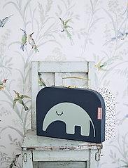 Done by Deer - Suitcase set 2 pcs Deer friends - przechowywanie - blue - 2