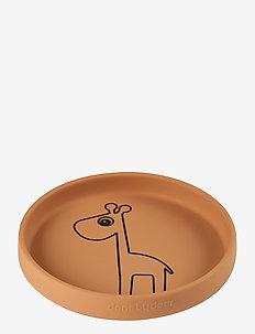 Silicone plate Raffi - tallerkener & skåler - mustard