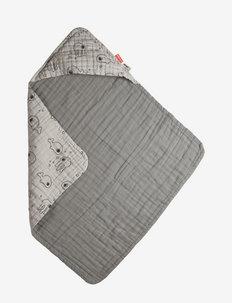 Hooded towel Sea friends - accessories - grey