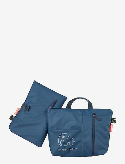 Changing clutch Elphee - wickeltaschen - blue