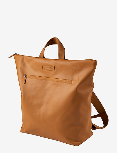 Changing backpack - wickeltaschen - mustard