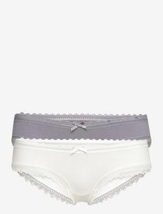 LILA 2PP Sensual Cheeky hipster - hipster & boxershorts - grey/ivory