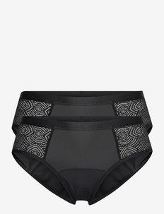 VEGA ECO MOON Core Hipster classic - hipster & boxershorts - black/black