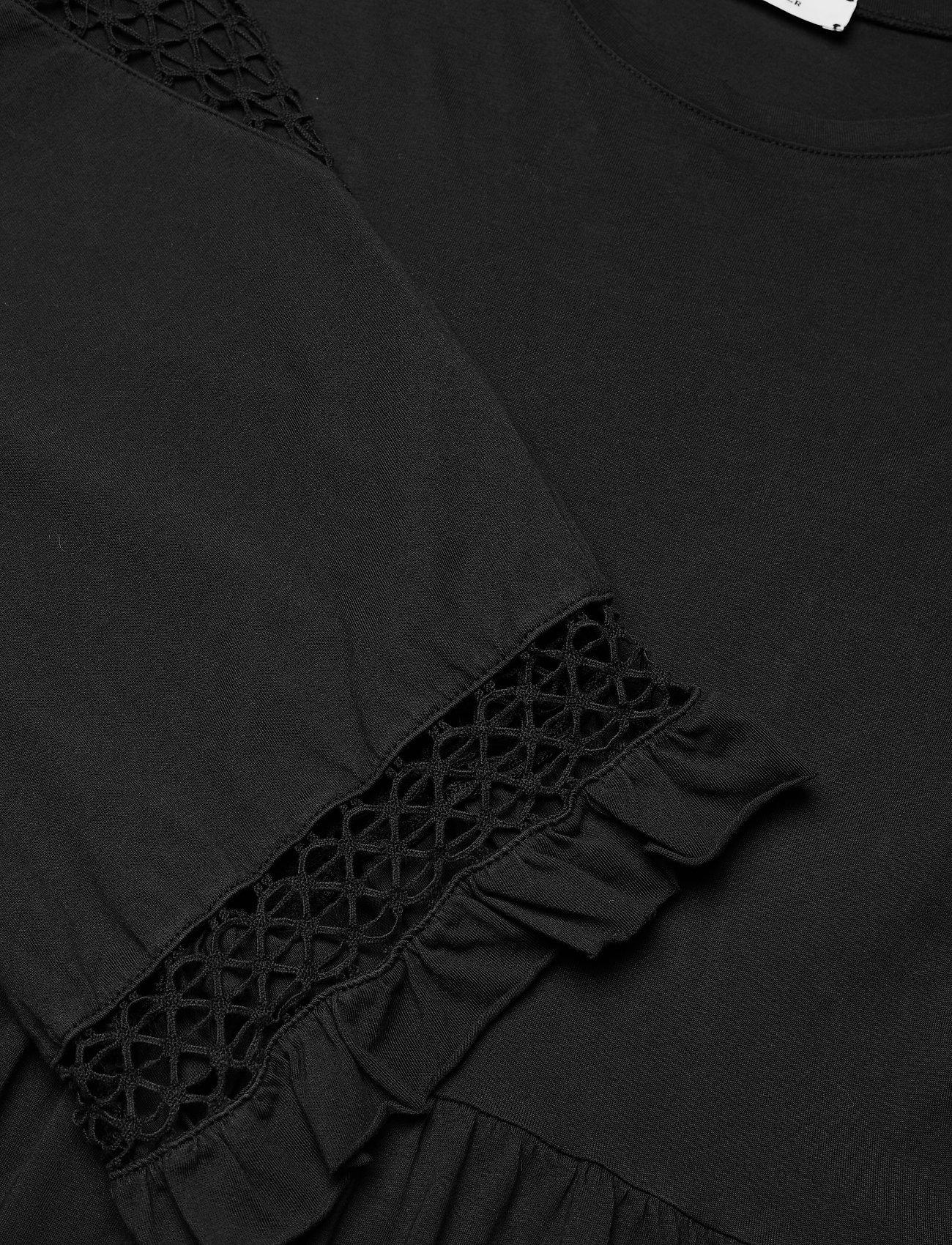 Dorothee Schumacher - CASUAL STATEMENT dress 3/4 sleeve - maxi dresses - pure black - 2