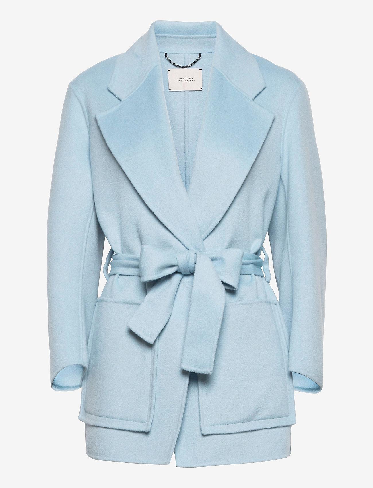 Dorothee Schumacher - EXCITING VOLUMES jacket - jacken - cloudy mint - 0