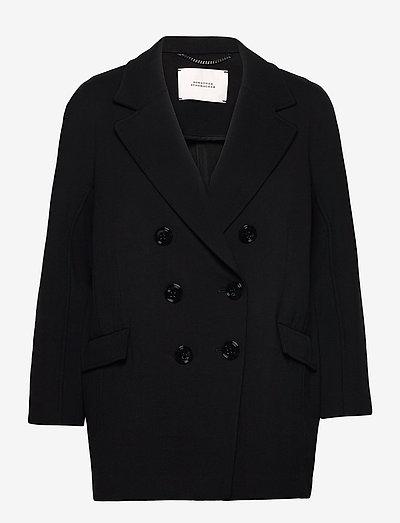 EMOTIONAL ESSENCE jacket - blazer - pure black