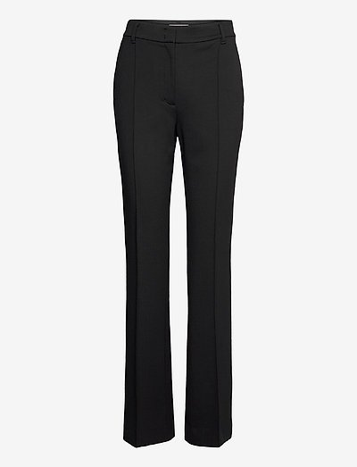 EMOTIONAL ESSENCE pants - housut - pure black