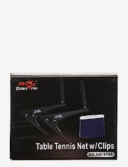 Double Fish - Table Tennis Net w/ Clips - bolde og tilbehør - 1001 black - 0