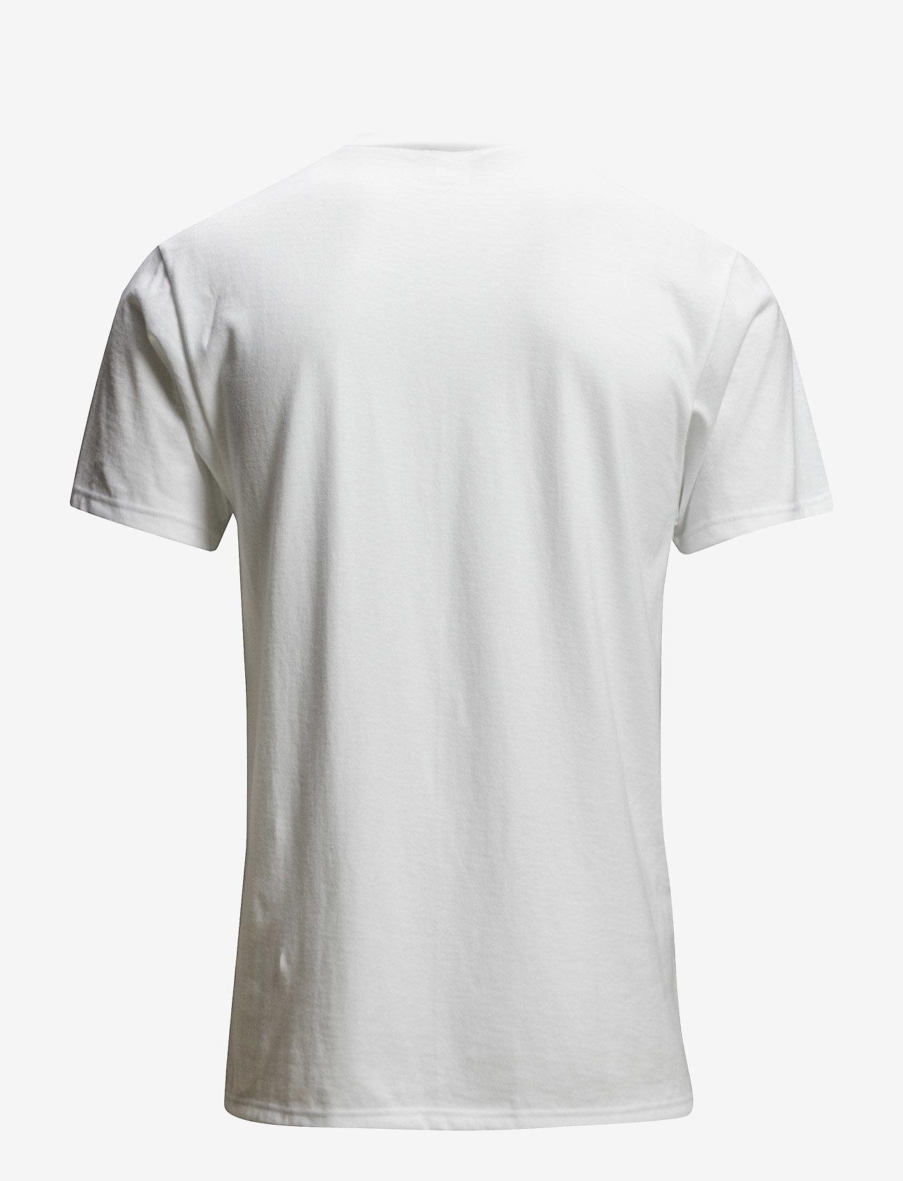 Dovre - Dovre T-shirts V-neck - t-krekli ar īsām piedurknēm - hvid - 0