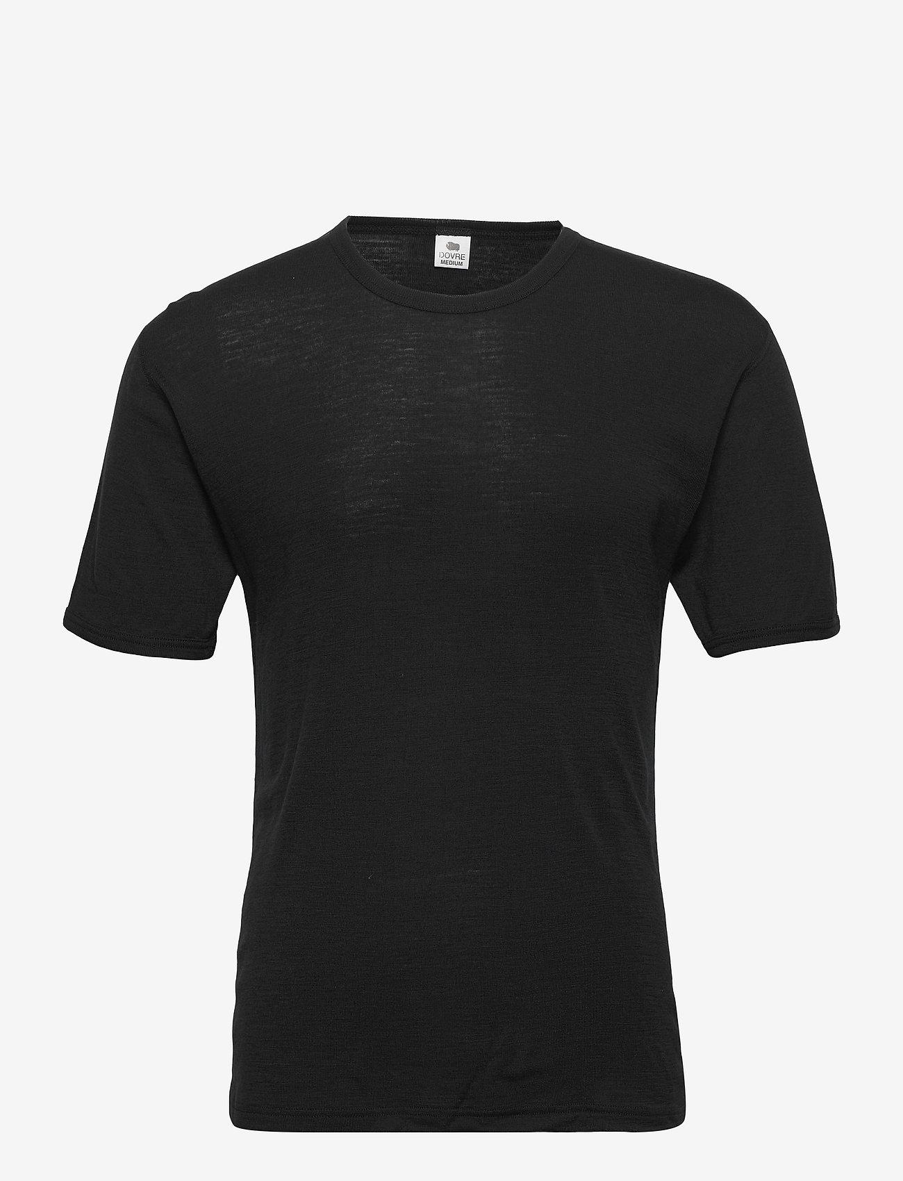 Dovre - T-shirts 1/4 ærme - t-krekli ar īsām piedurknēm - sort - 0
