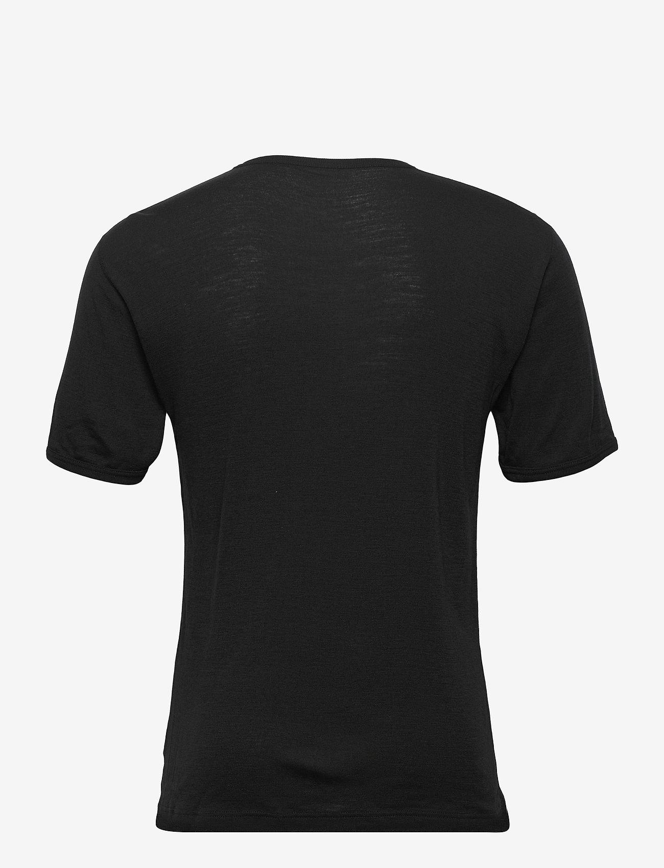 Dovre - T-shirts 1/4 ærme - t-krekli ar īsām piedurknēm - sort - 1