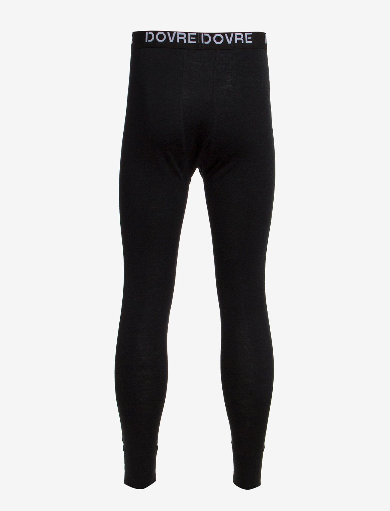 Dovre - Dovre Wool Long Johns - base layer bottoms - sort - 1