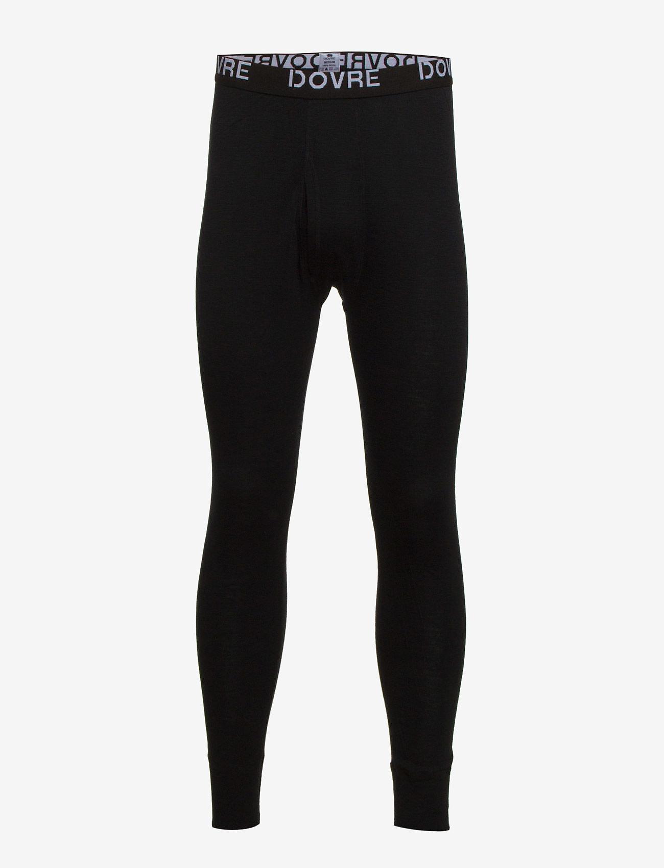 Dovre - Dovre Wool Long Johns - base layer bottoms - sort - 0