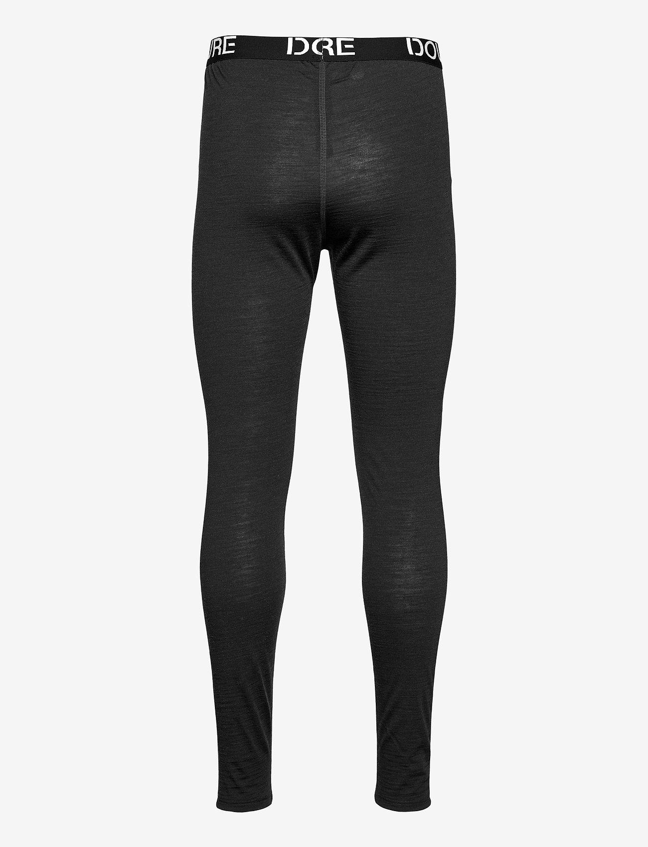 Dovre - Longlegs 100% wool - base layer bottoms - mörkgrå me - 1