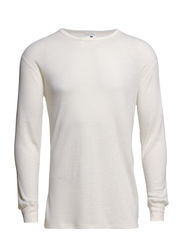 Dovre Wool T-shirts 1/1 ærme - VAND BLå