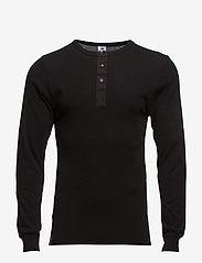 Dovre T-shirt Long sleeves - BLACK