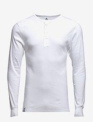 Dovre - Dovre T-shirt Long sleeves - t-krekli ar garām piedurknēm - white - 0