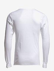 Dovre - Dovre T-shirt Long sleeves - t-krekli ar garām piedurknēm - white - 1