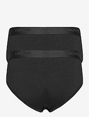 Dovre - DOVRE brief 2-pack GOTS - sous-vêtements - svart - 3