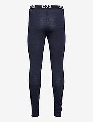 Dovre - Longlegs 100% wool - base layer bottoms - navy - 1