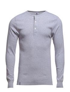 Dovre T-shirt Long sleeves - long-sleeved t-shirts - grey melan
