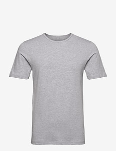 Dovre T-shirts O-neck - basic t-shirts - greymelang