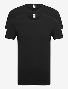 Dovre 2-pack O-neck - basic t-shirts - svart