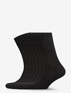 Dovre Bamboo socks 7 pack - normalne skarpetki - black