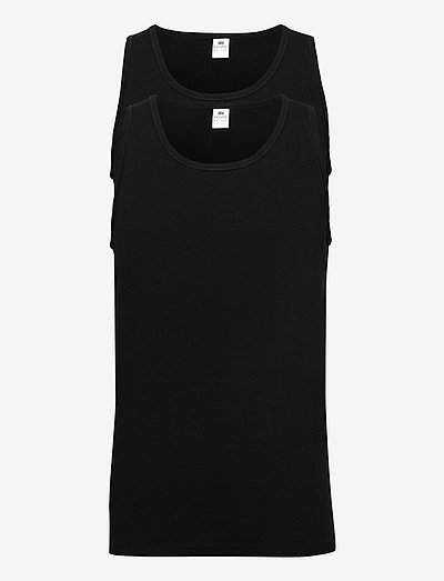 Dovre singlet 2-pack GOTS - t-shirts basiques - svart