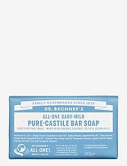 Dr. Bronner's - Pure-Castile Bar Soap Baby-Mild (unscented) - handtvål - no colour - 0