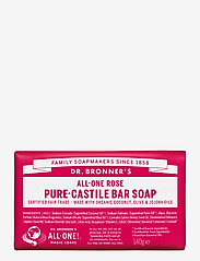 Dr. Bronner's - Pure-Castile Bar Soap Rose - handtvål - no colour - 0