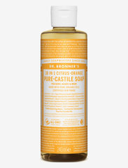 Dr. Bronner's - 18-in-1 Castile Liquid Soap Citrus-Orange - handtvål - no colour - 0