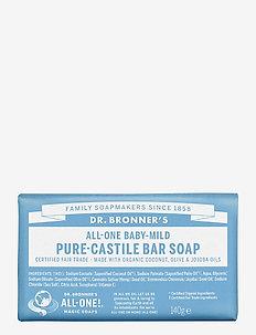 Pure-Castile Bar Soap Baby-Mild (unscented) - handvård - no colour