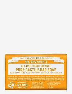 Pure-Castile Bar Soap Citrus-Orange - handvård - no colour