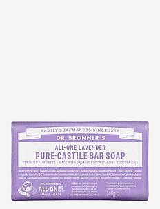 Pure-Castile Bar Soap Lavender - handvård - no colour