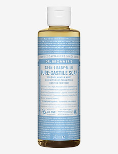 18-in-1 Castile Liquid Soap Baby-Mild (unscented) - handvård - no colour