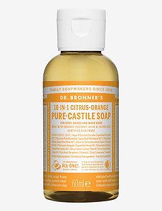 18-in-1 Castile Liquid Soap Citrus-Orange - handvård - no colour