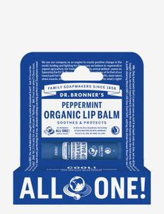 Peppermint Organic Lip Balm Hang Pack - läppvård - no colour