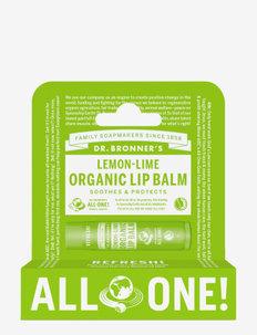 Lemon Lime Organic Lip Balm Hang Pack - läppvård - no colour